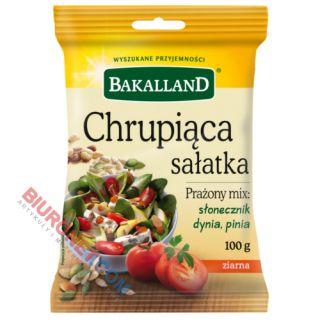 Chrupiąca Sałatka Bakalland, mieszanka prażonych ziaren i orzechów pini