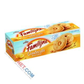 Ciasteczka Jutrzenka Familijne, bez cukru, maślane 160g