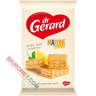 Ciastka Mafijne Lemon Dr.Gerard, z kremem śmietankowo-cytrynowym