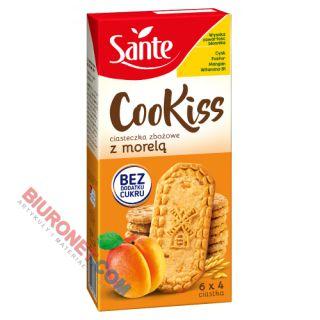 Ciastka Sante Fit, bez cukru, zbożowe z morelą 300g