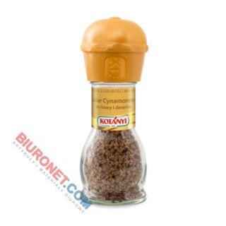 Cukier cynamonowy Kotanyi, młynek, posypka do kawy