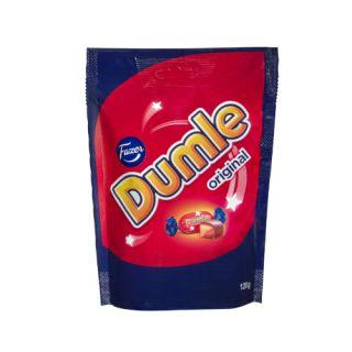 Cukierki Dumle Fazer, miękkie toffi w czekoladzie mlecznej 120g