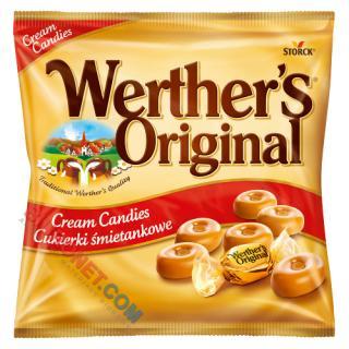 Cukierki Werther's Original, twarde karmelki śmietankowe