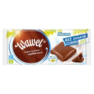 Czekolada bez cukru Wawel Mleczna 100g