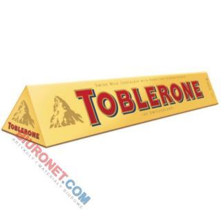 Czekolada Toblerone, mleczna z nugatem i miodem