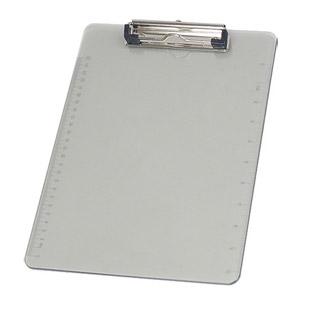 Deska A4 Deli, plastikowa podkładka do pisania z klipsem