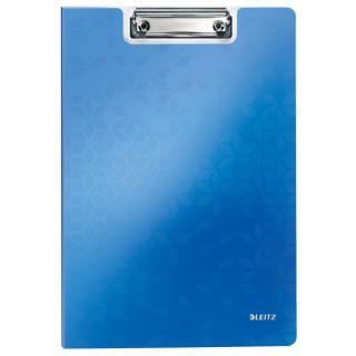 Deska A4 Leitz Wow, z klipsem i okładką, kolory metaliczne