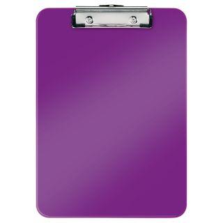 Deska A4 Leitz Wow, z klipsem, kolory metaliczne