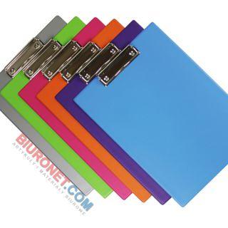Deska A5 z klipsem Biurfol New Colours, podkładka do pisania