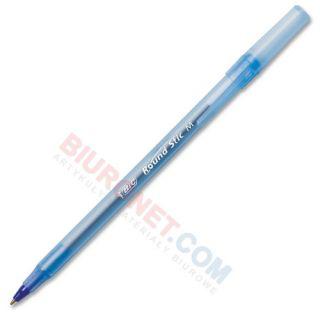 Długopis BIC Round Stick M 1.0 mm, jednorazowy ze skuwką