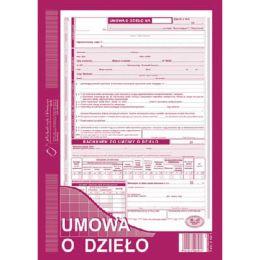 Druk - Umowa o Dzieło, format A4