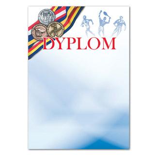 Dyplom ozdobny Olimpiada A4/250g