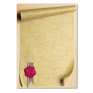 Dyplom ozdobny Pieczęć A4/170g