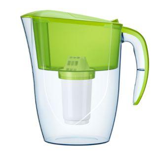 Dzbanek filtrujący Aquaphor Smile 2,9L, z wkładem filtrującym A5 Mg kolor limonkowy