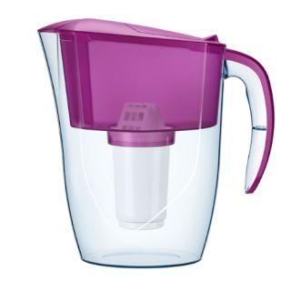 Dzbanek filtrujący Aquaphor Smile 2,9L, z wkładem filtrującym A5 Mg kolor fioletowy