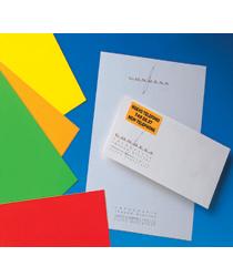 Etykiety kolorowe APLI, papierowe, 210 x 297 mm, 20 arkuszy A4