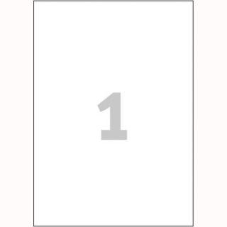 Etykiety poliestrowe Avery Zweckform, trwałe, wodoodporne, białe, 20 arkuszy A4