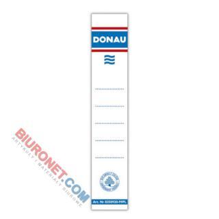 Etykiety samoprzylepne do segregatora Donau, opakowanie 20 sztuk