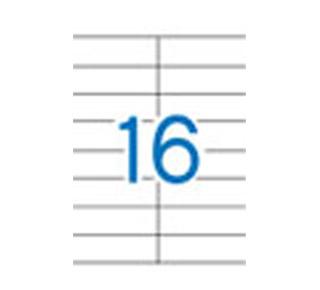 Etykiety uniwersalne APLI, papierowe, 100 arkuszy A4