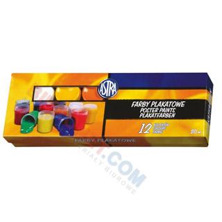 Farbyplakatowe Astra, 12 kolorów
