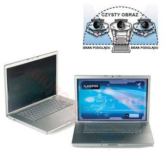 Filtr prywatyzujący 3M do laptopa.