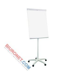 Flipchart mobilny 2X3 ecoBoards TF03 ECO, tablica suchościeralna magnetyczna 70x100 cm, z półką wysokość 186 cm