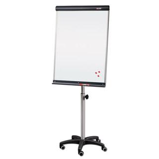 Flipchart mobilny Vittoria Montana, tablica suchościeralna magnetyczna 67x101 cm, z półką regulowana wysokość