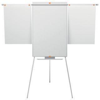 Flipchart na trójnogu NOBO Classic, tablica magnetyczno - suchościeralna z ramionami 68,5 x 185 x 68,5 cm