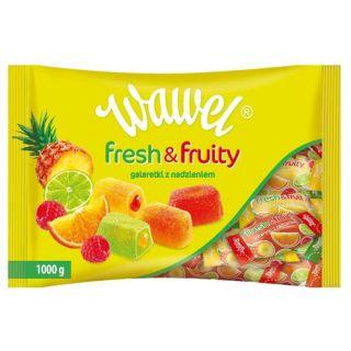 Galaretki Fresh & Fruity Wawel, owocowe z nadzieniem