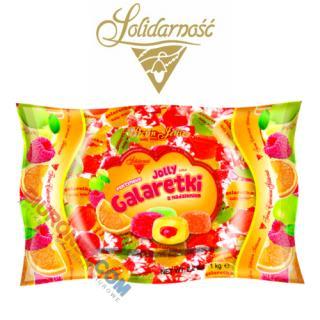Galaretki Jolly Baby Solidarność, owocowe z nadzieniem