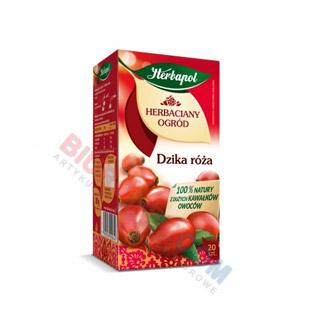 Herbapol Herbaciany Ogród, herbata owocowa, 20 torebek dzika róża