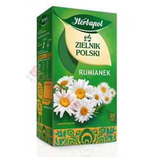 Herbapol Zielnik Polski, herbata ziołowa, 20 torebek rumianek