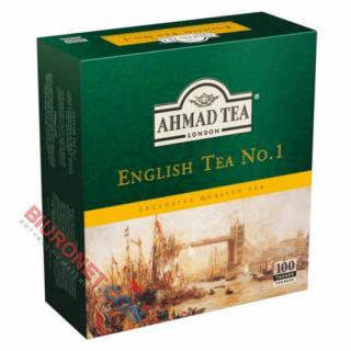 Herbata Ahmad English Tea No.1, czarna ekspresowa 100 torebek