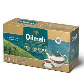Herbata Dilmah Ceylon Gold, czarna cejlońska, ekspresowa