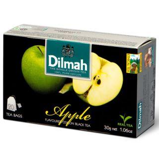 Herbata Dilmah, czarna aromatyzowana, 20 torebek ze sznureczkami
