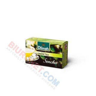Herbata Dilmah Green Tea, zielona, 20 torebek ze sznureczkami