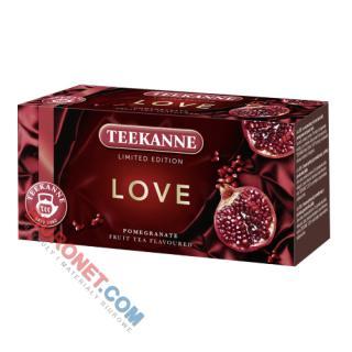 Herbata Teekanne LOVE Limited Edition, owocowa, 20 torebek  w kopertach