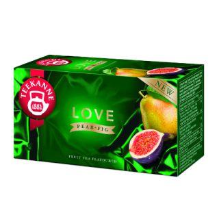 Herbata Teekanne LOVE Pear&Fig, owocowa, 20 torebek  w kopertach gruszka i figa