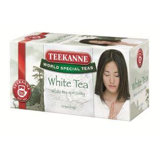 Herbata Teekanne White Tea, 20 torebek w kopertach biała
