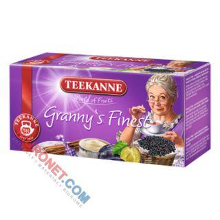 Herbata Teekanne World of Fruits Granny's Finest, owocowa, 20 torebek w kopertach