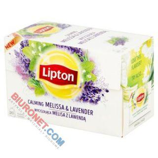 Herbata ziołowa Lipton Wyciszająca Melisa z Lawendą, funkcyjna