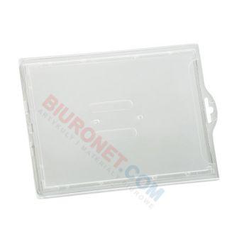 Holder do kart plastikowych bez taśmy typ-L 103x75 mm, 50 szt