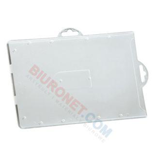 Holder do kart plastikowych bez taśmy typ-P 110x70 mm, 50 szt
