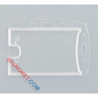 Holder plastikowy na dwie karty, typ 2K-H blue, 50 szt