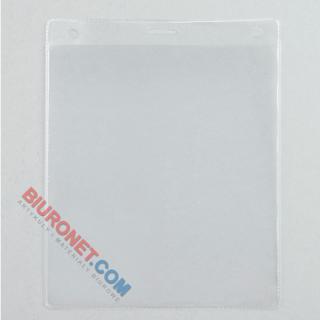 Identyfikator targowy otwierany z góry 100x147 mm, 50 szt