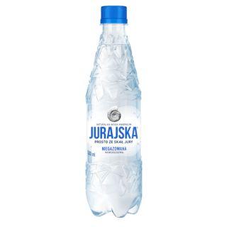 Jurajska, woda mineralna [0,5L x 12 sztuk]
