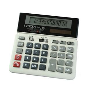 Kalkulator Citizen SDC-368, biurowy
