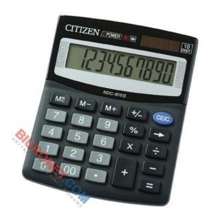 Kalkulator Citizen SDC-810BN, biurowy