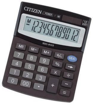 Kalkulator Citizen SDC-812B, biurowy