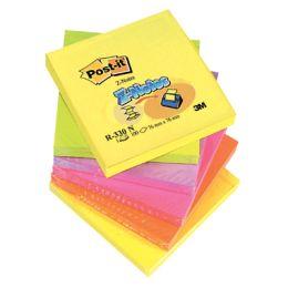Karteczki harmonijkowe Post-it Z-Notes 76 x 76 mm, komplet 6 bloczków po 100 kartek